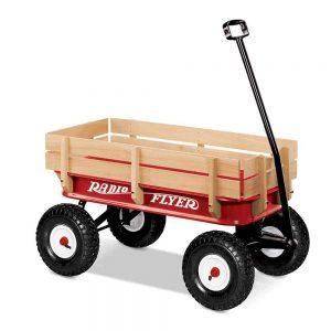 Radio Flyer All-Terrain Steel & Wood Wagon Image