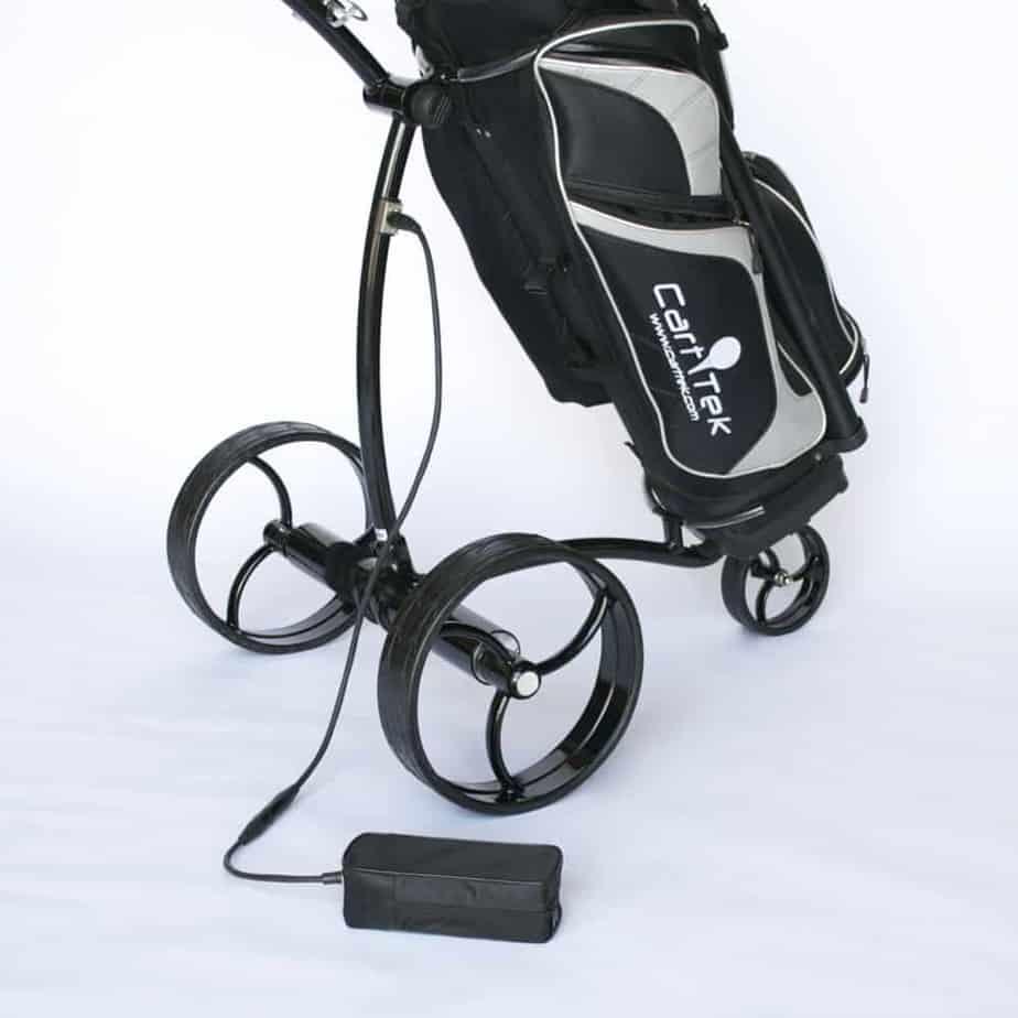 Electronic golf cart battery Image