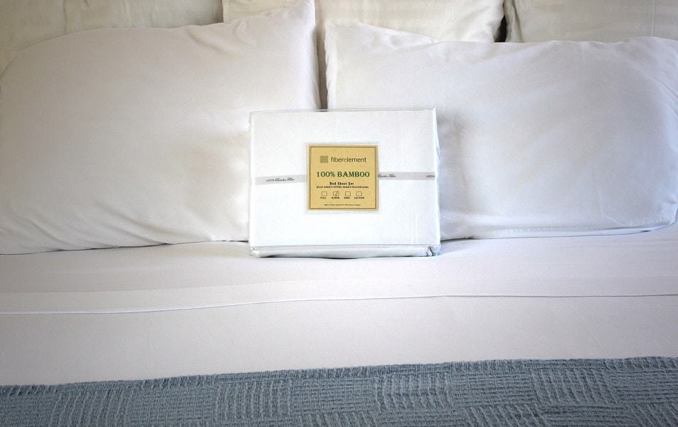 Picture of bamboo sheets and bedding